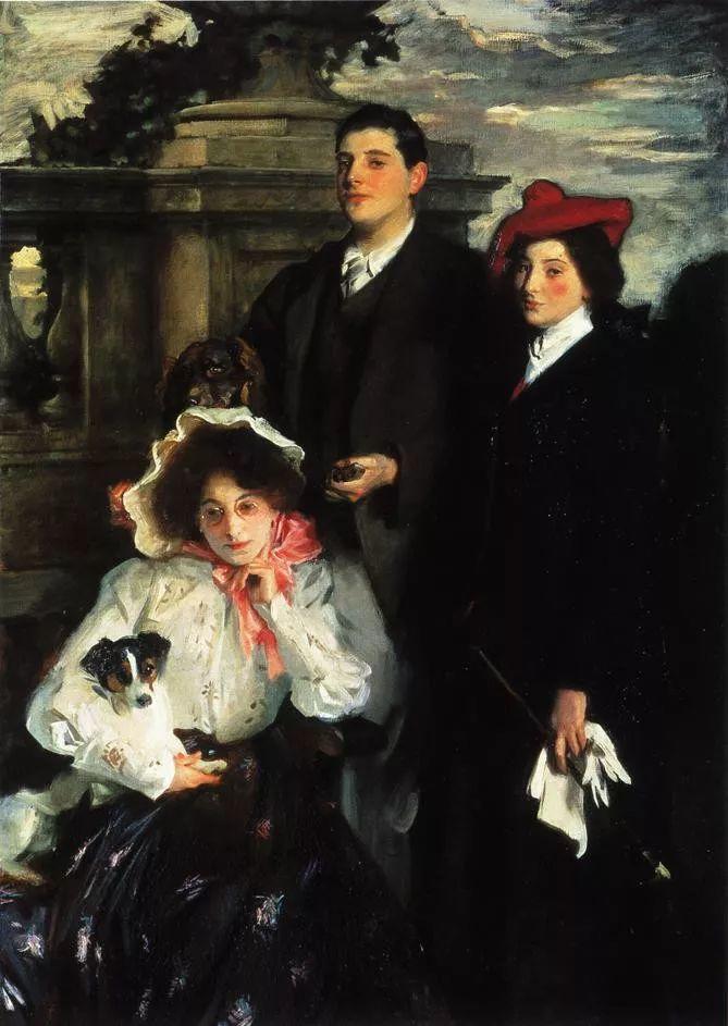 美John Singer Sargent肖像油画欣赏二插图187