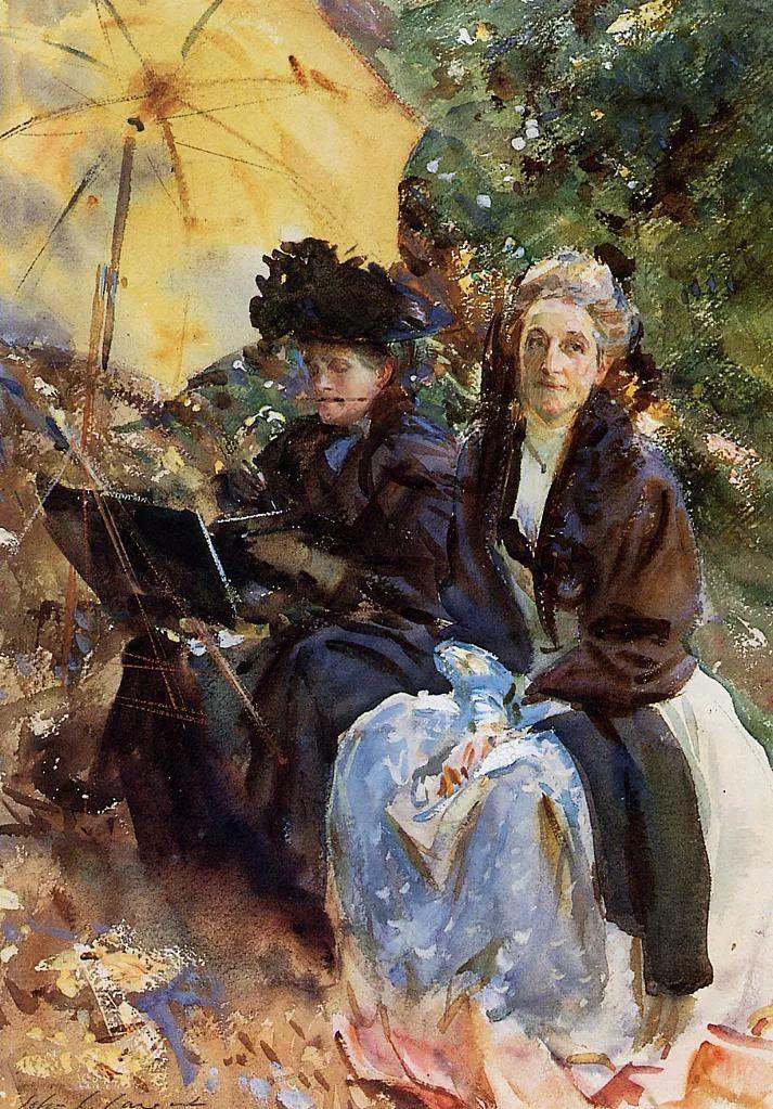 美John Singer Sargent肖像油画欣赏二插图189