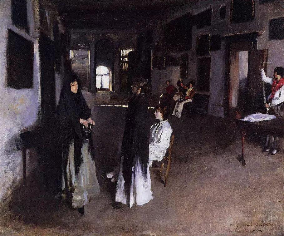 美John Singer Sargent肖像油画欣赏二插图195