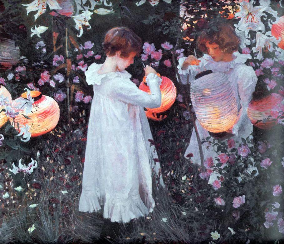 美John Singer Sargent肖像油画欣赏二插图203