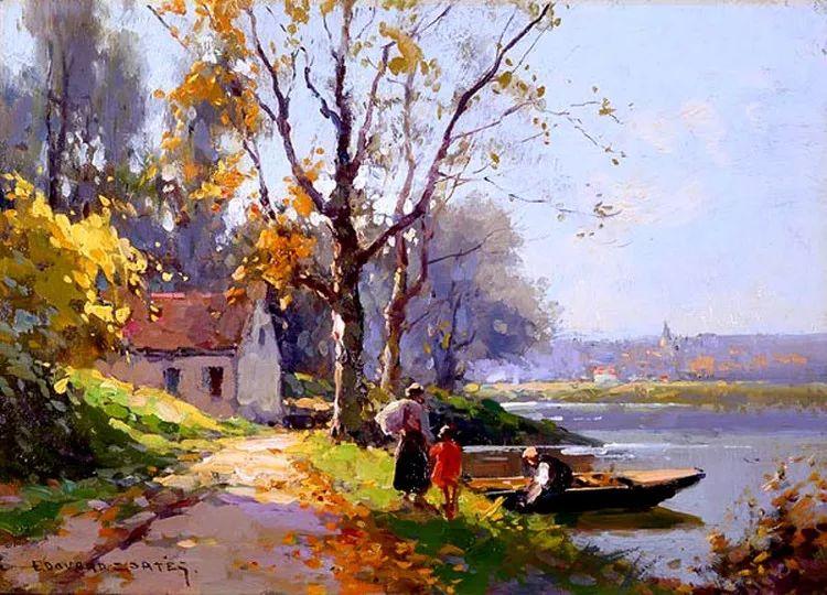 法国Edouard Leon Cortes油画作品插图1