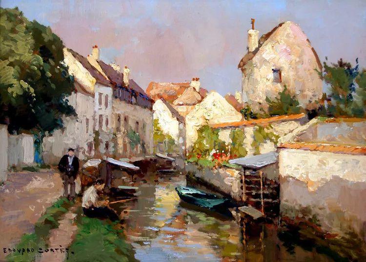 法国Edouard Leon Cortes油画作品插图2