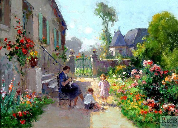 法国Edouard Leon Cortes油画作品插图3