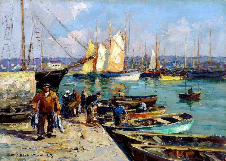 法国Edouard Leon Cortes油画作品插图6