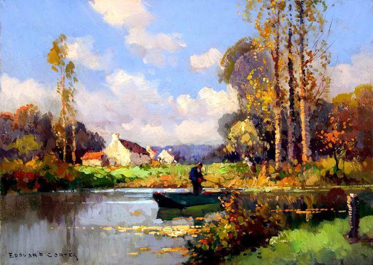 法国Edouard Leon Cortes油画作品插图7