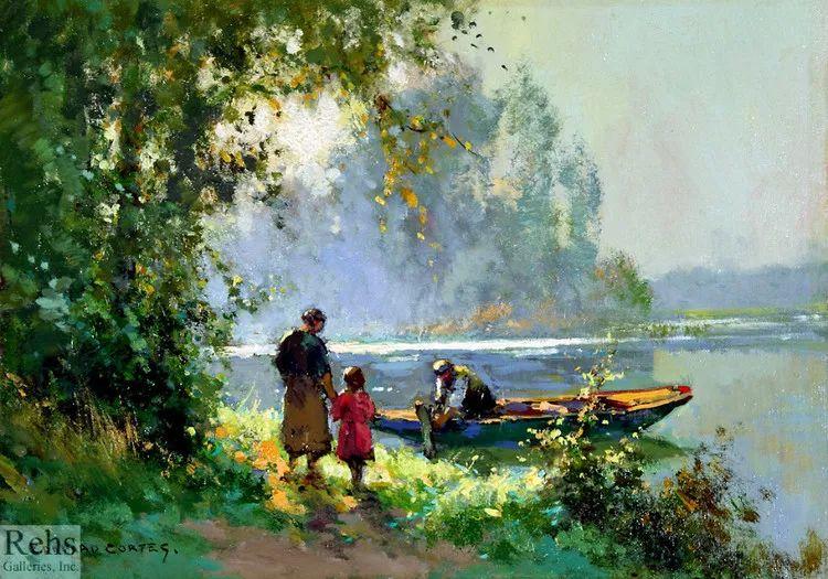 法国Edouard Leon Cortes油画作品插图8