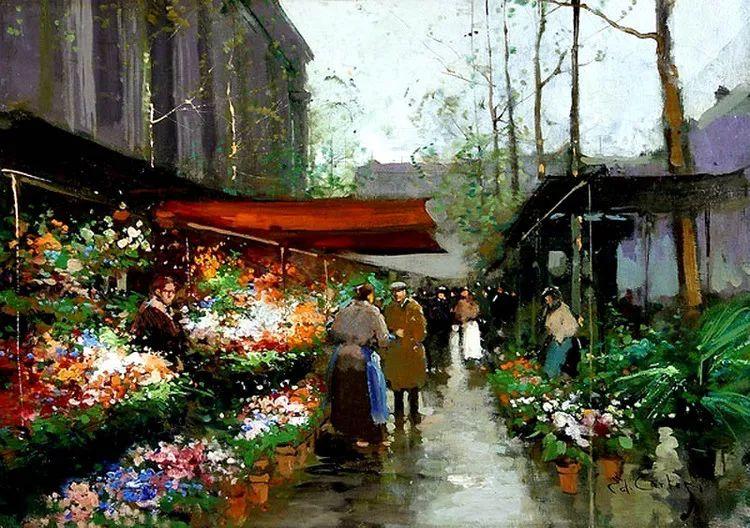 法国Edouard Leon Cortes油画作品插图9