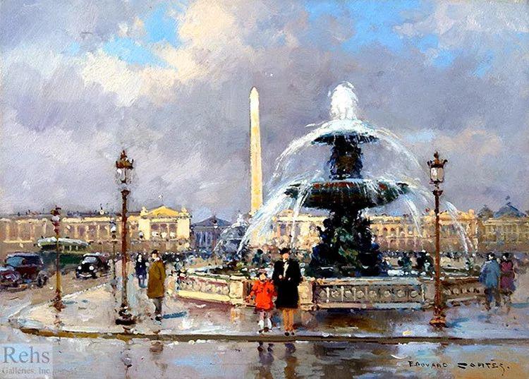 法国Edouard Leon Cortes油画作品插图11