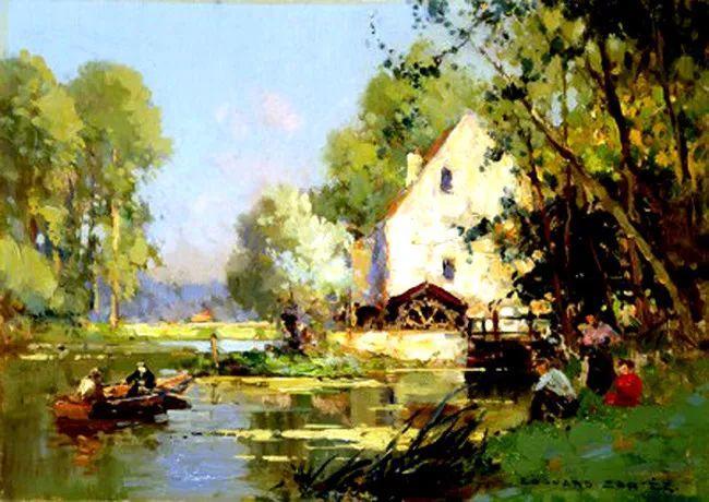 法国Edouard Leon Cortes油画作品插图12