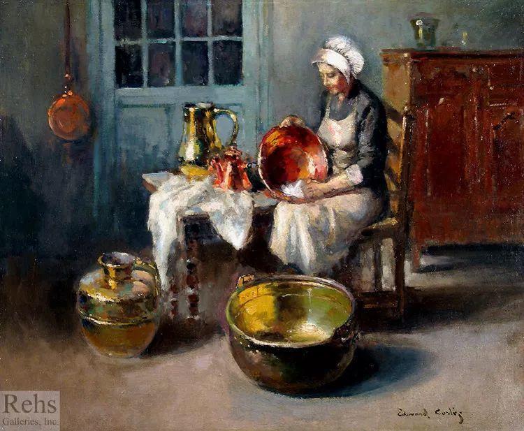 法国Edouard Leon Cortes油画作品插图14