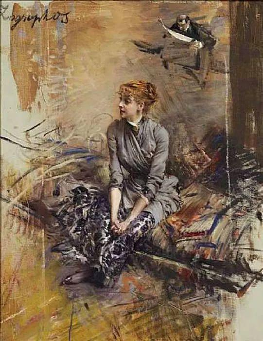 (意)Giovanni Boldini油画欣赏插图21