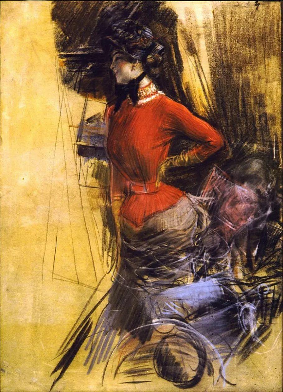 (意)Giovanni Boldini油画欣赏插图41