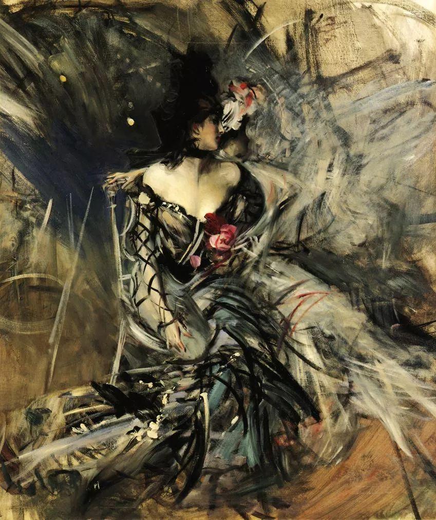 (意)Giovanni Boldini油画欣赏插图45