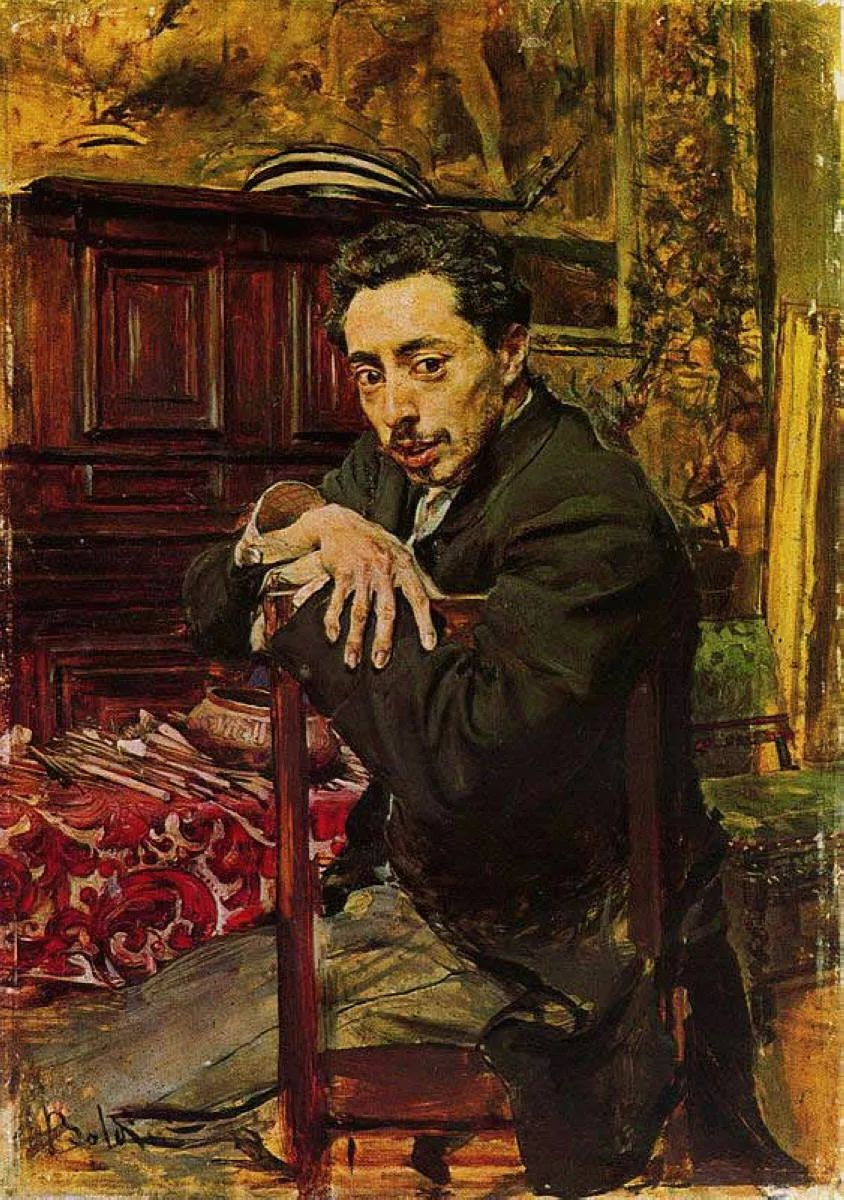 (意)Giovanni Boldini油画欣赏插图55