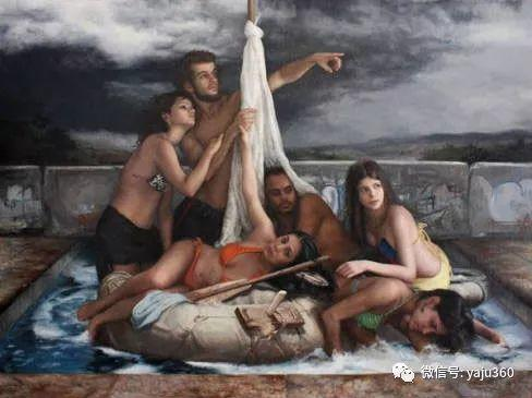 美籍古巴画家Cesar Santos绘画作品插图33