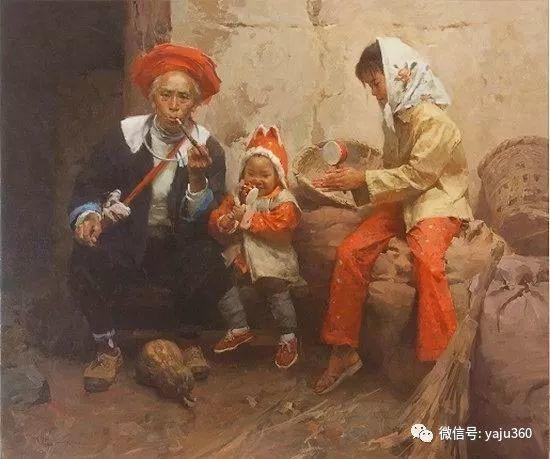 旅美华裔画家Mian Situ油画欣赏插图1