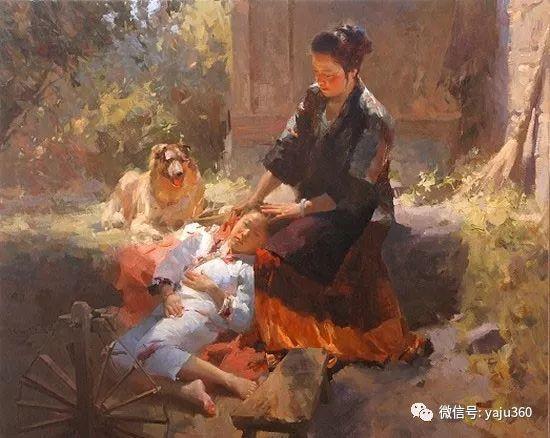 旅美华裔画家Mian Situ油画欣赏插图2