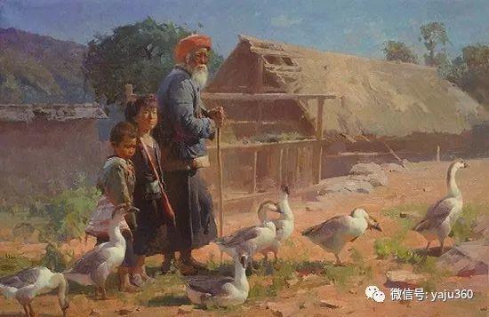 旅美华裔画家Mian Situ油画欣赏插图3
