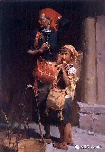 旅美华裔画家Mian Situ油画欣赏插图7