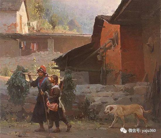 旅美华裔画家Mian Situ油画欣赏插图9