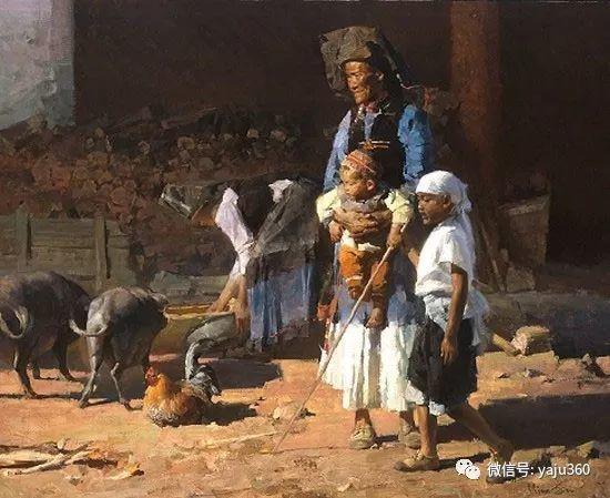 旅美华裔画家Mian Situ油画欣赏插图24