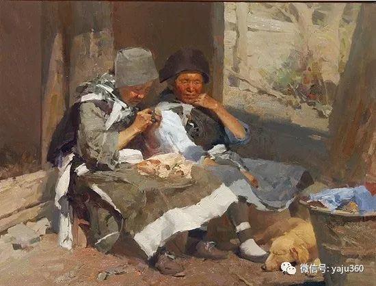 旅美华裔画家Mian Situ油画欣赏插图27
