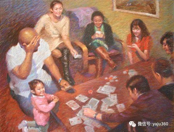 旅美中国香港女画家Sandra.Lo绘画作品插图