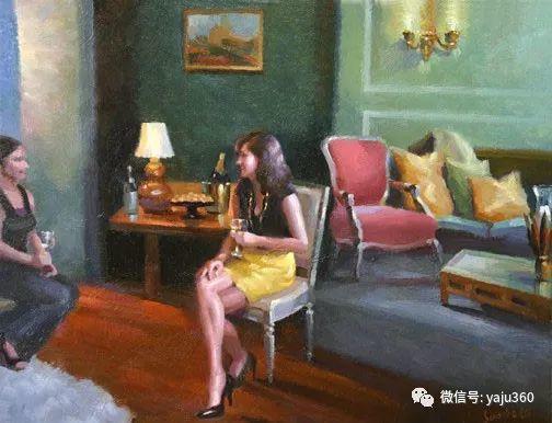 旅美中国香港女画家Sandra.Lo绘画作品插图5