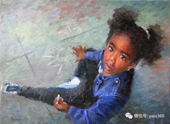 旅美中国香港女画家Sandra.Lo绘画作品插图8