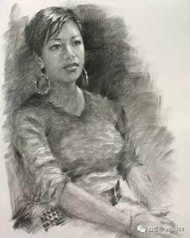 旅美中国香港女画家Sandra.Lo绘画作品插图14