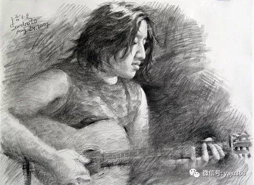 旅美中国香港女画家Sandra.Lo绘画作品插图15