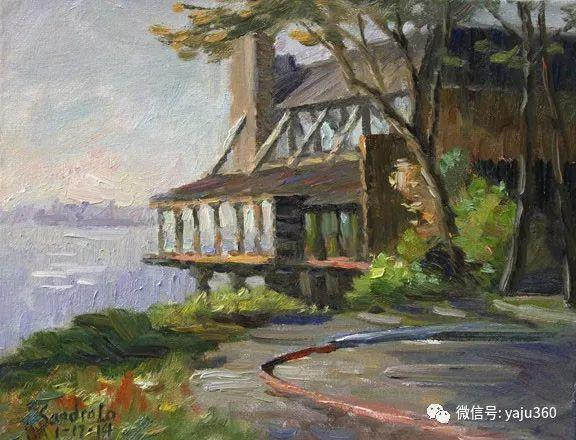 旅美中国香港女画家Sandra.Lo绘画作品插图21