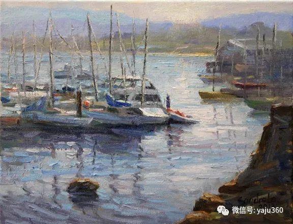 旅美中国香港女画家Sandra.Lo绘画作品插图22