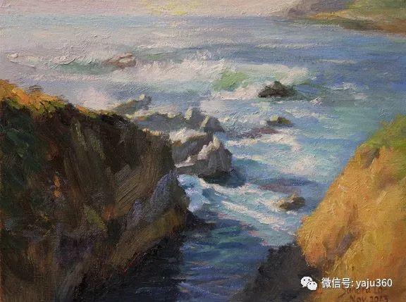 旅美中国香港女画家Sandra.Lo绘画作品插图23