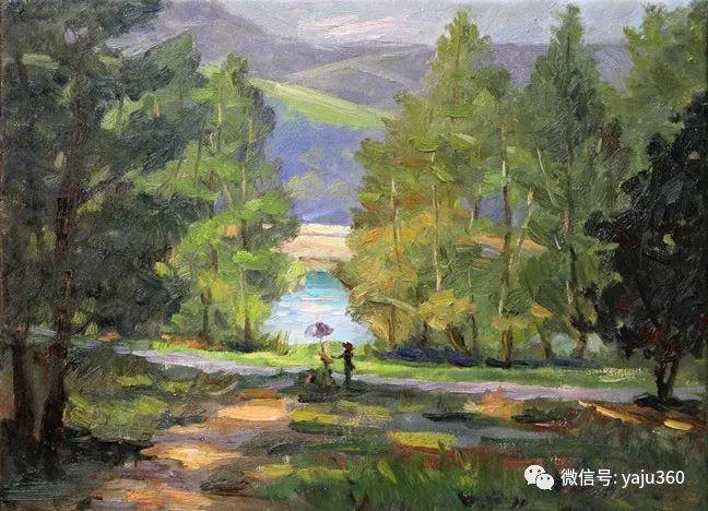 旅美中国香港女画家Sandra.Lo绘画作品插图24