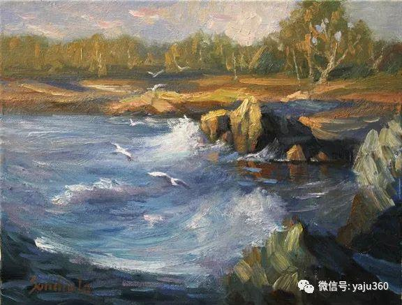 旅美中国香港女画家Sandra.Lo绘画作品插图25