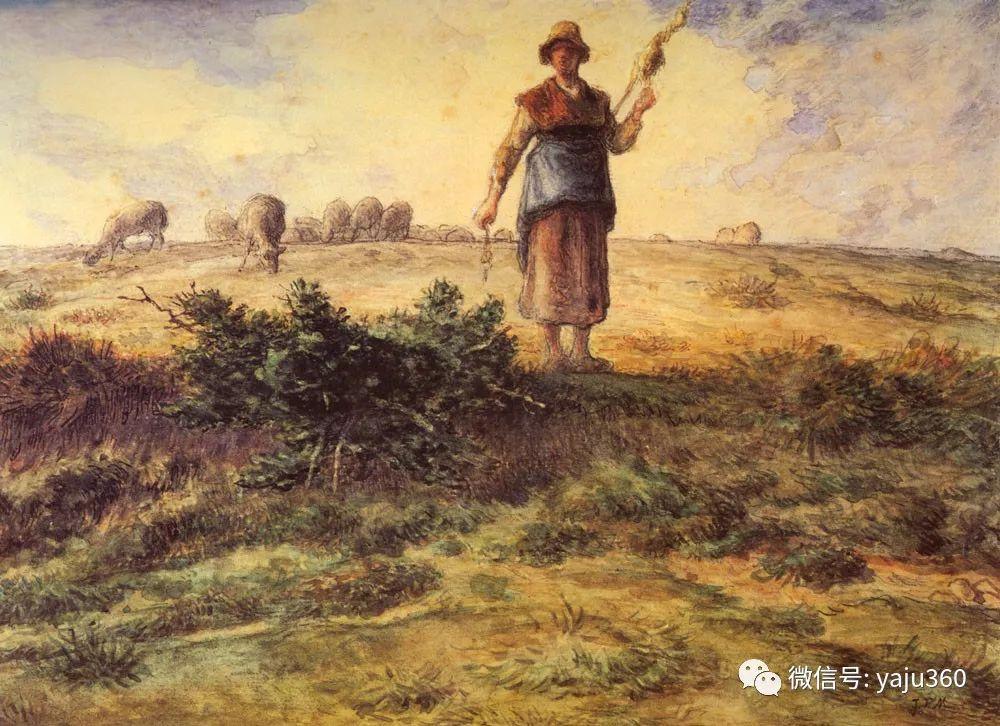 世界著名画家系列九之米勒插图81