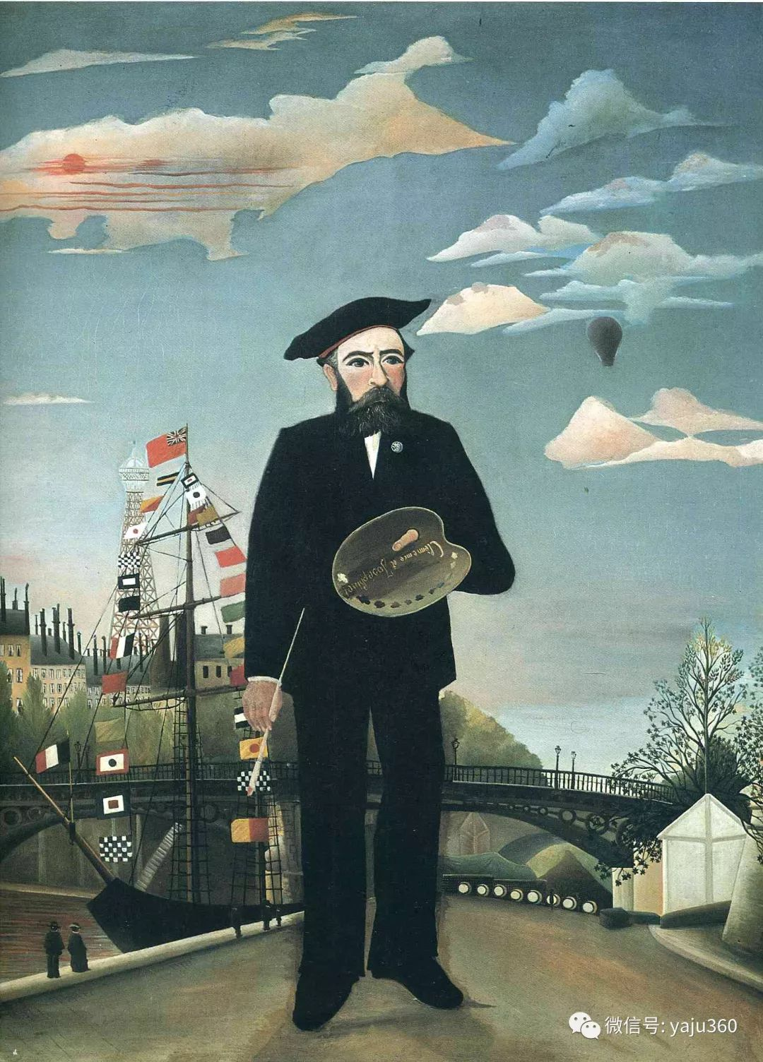 世界著名画家之卢梭插图19