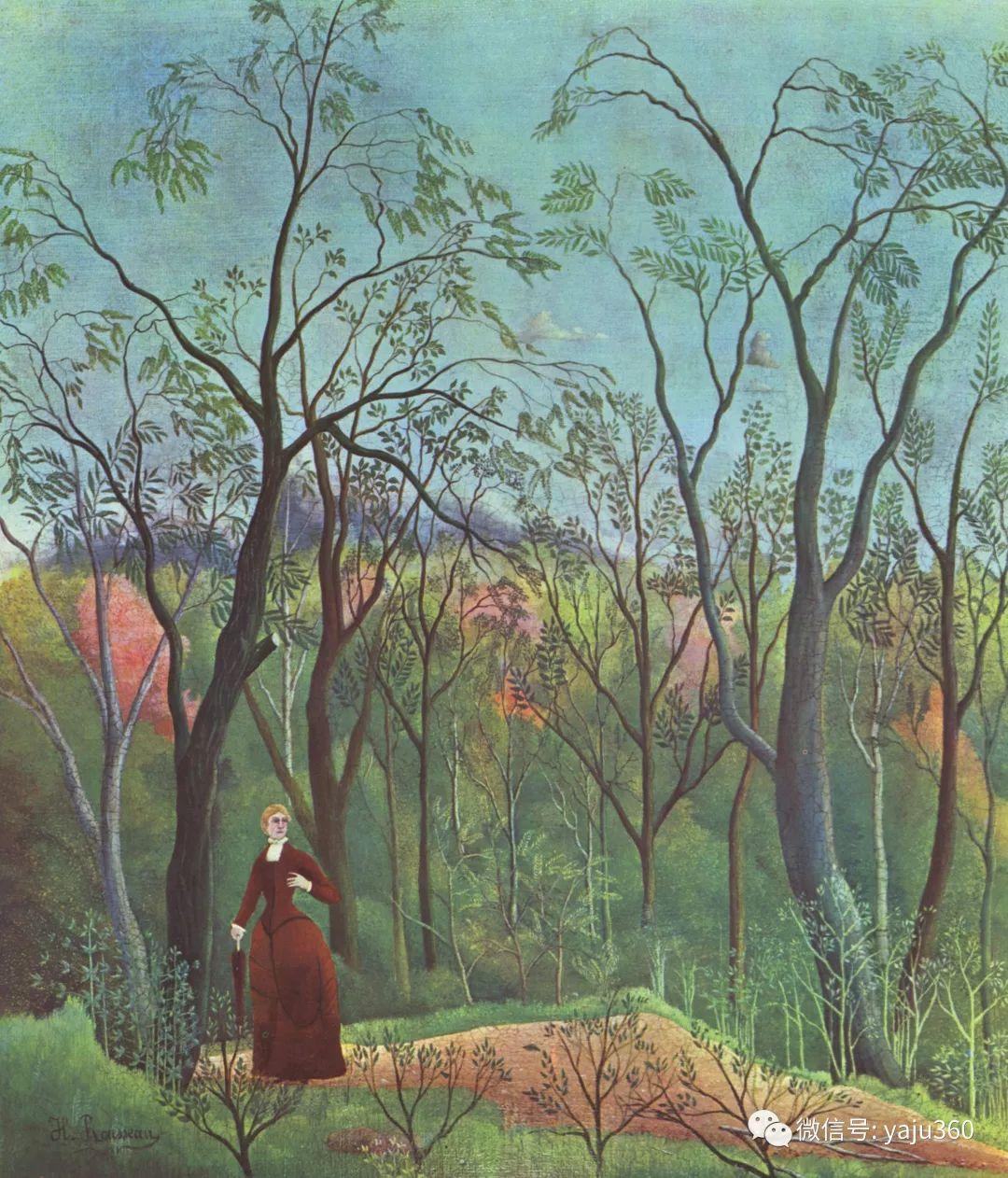 世界著名画家之卢梭插图23