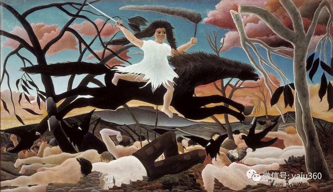 世界著名画家之卢梭插图39