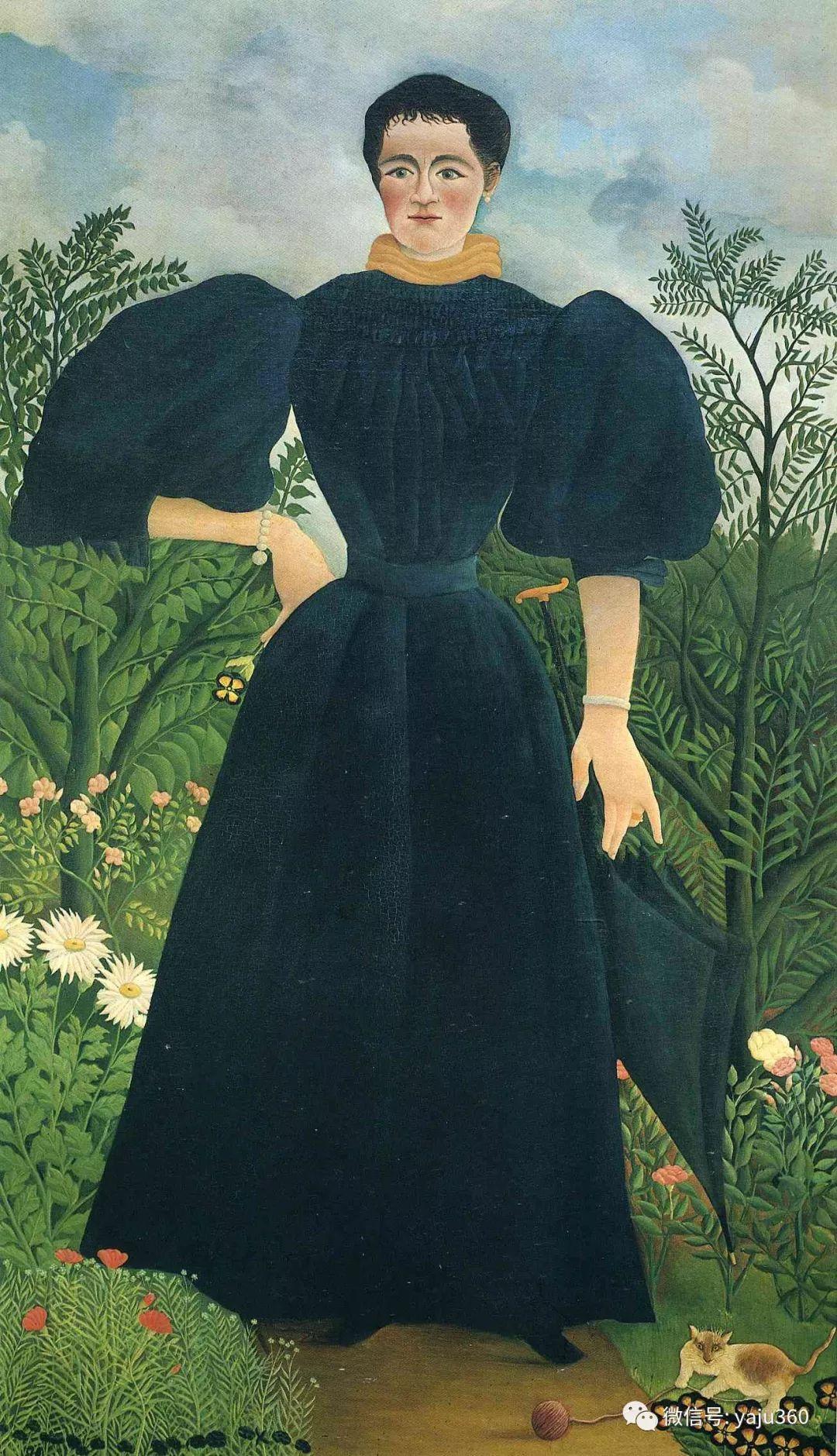 世界著名画家之卢梭插图45