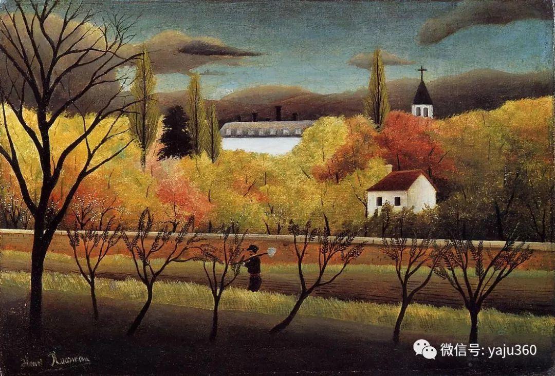 世界著名画家之卢梭插图55