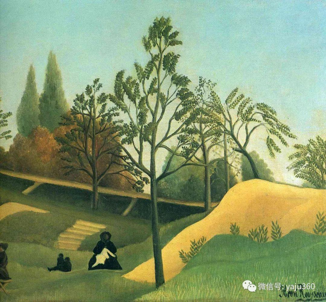 世界著名画家之卢梭插图65