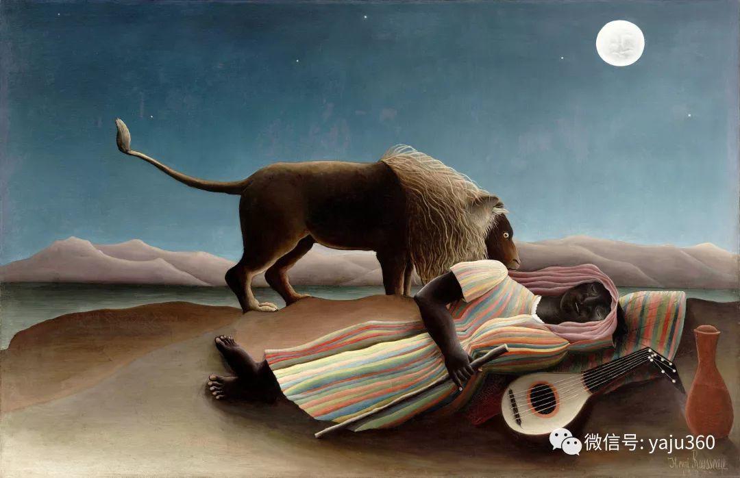 世界著名画家之卢梭插图73