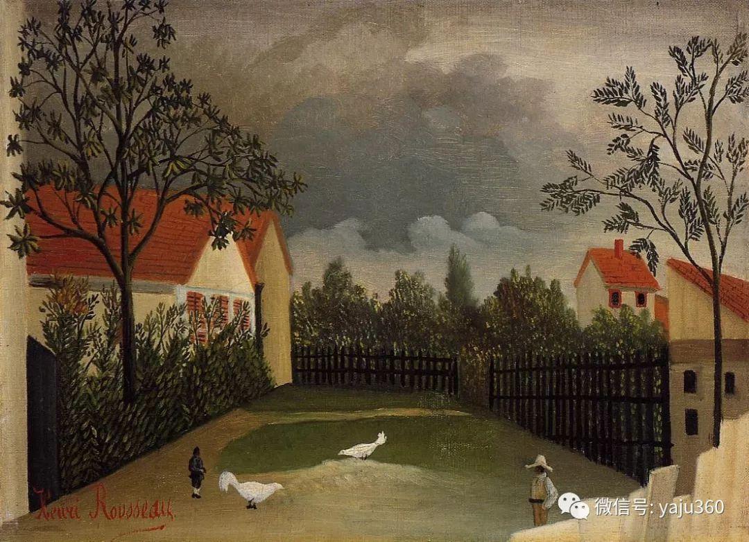 世界著名画家之卢梭插图83