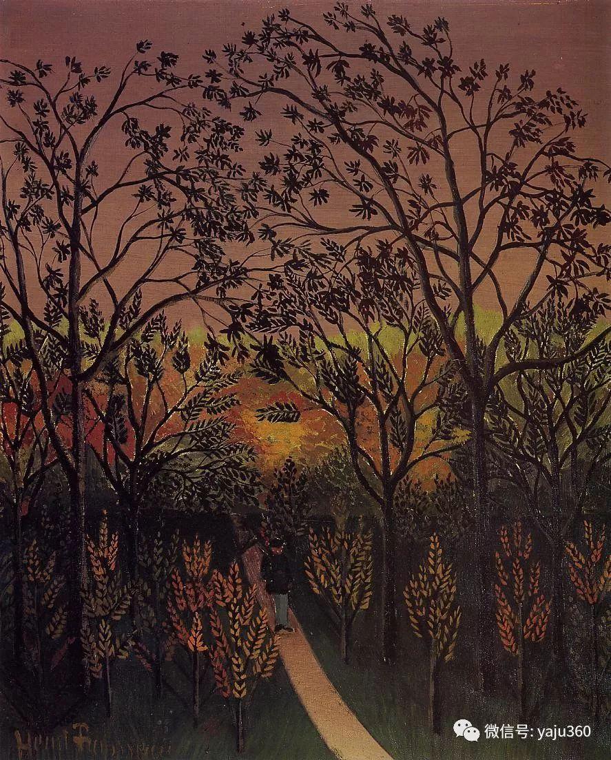 世界著名画家之卢梭插图93