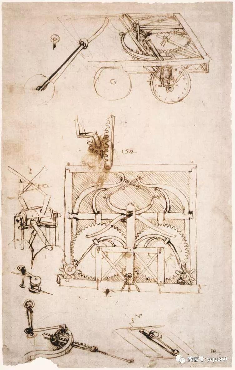 世界著名画家之达芬奇插图49