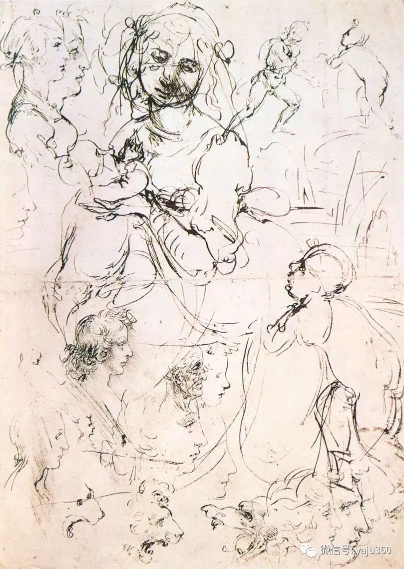 世界著名画家之达芬奇插图59