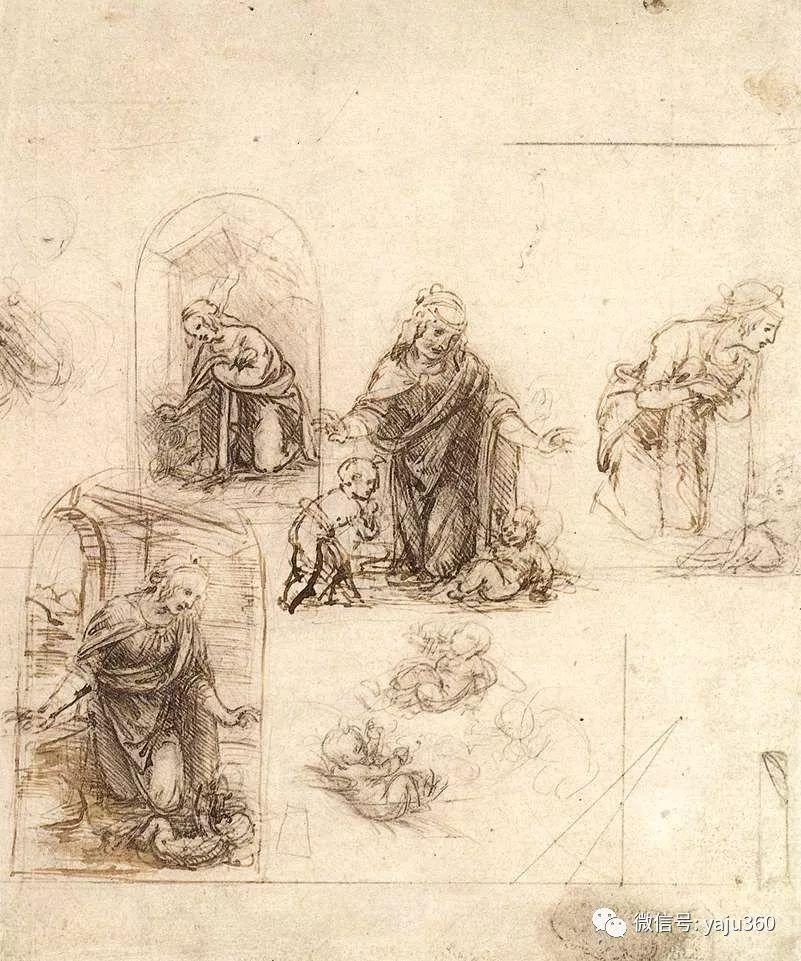 世界著名画家之达芬奇插图105