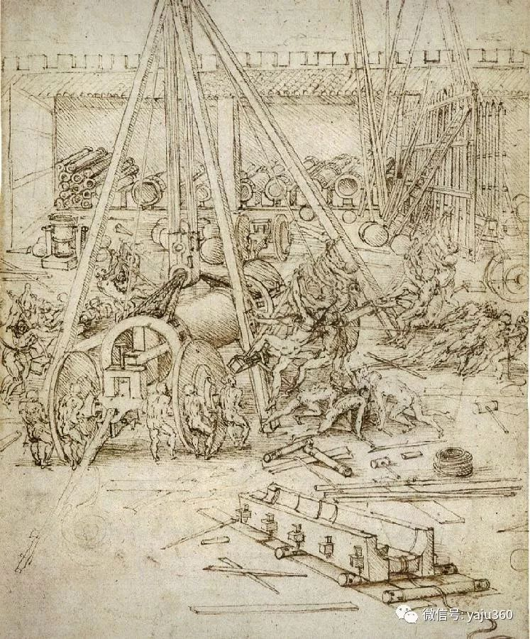世界著名画家之达芬奇插图107